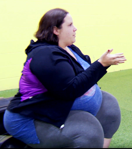 Whitney Way Thore Before | a fat girl dancing star whitney